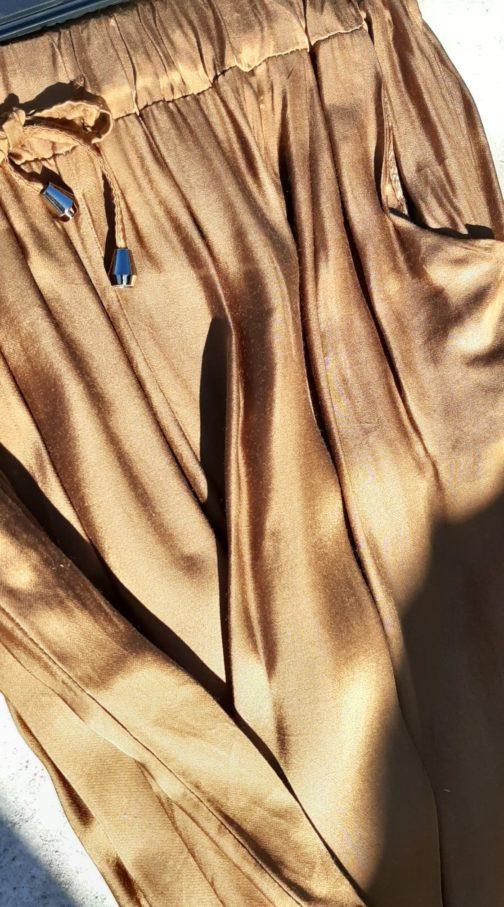 Pantalon soie Cécile Wang