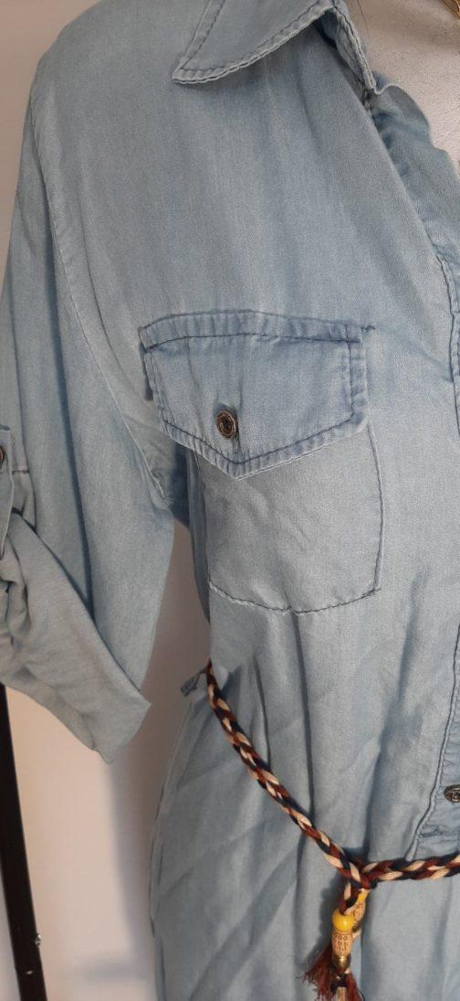 Robe jeans par Elle est du Sud