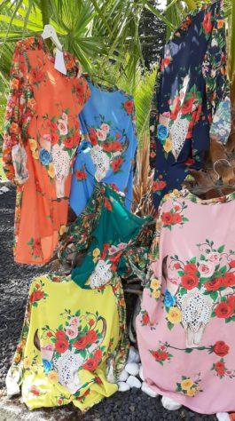 Chemise tunique tête taureau par Elle est du Sud