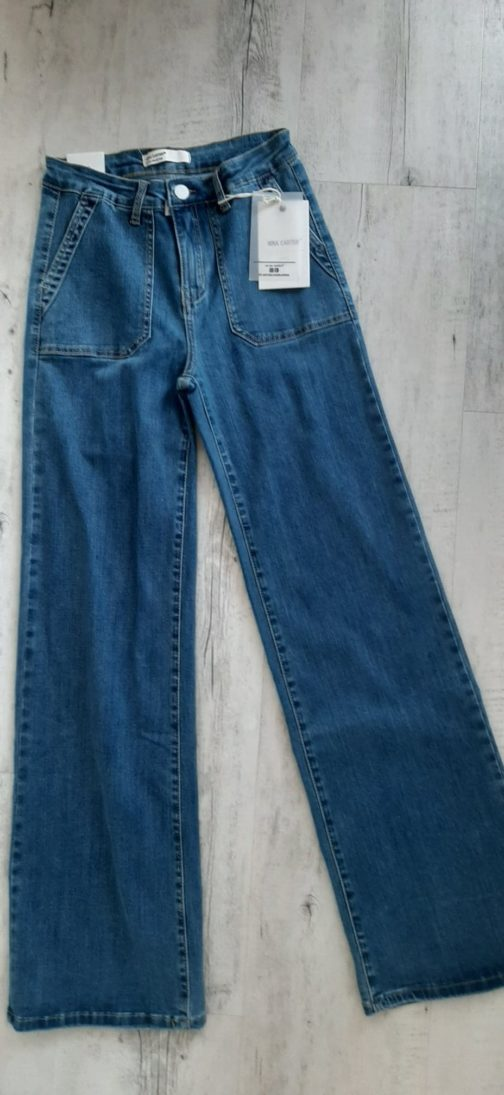 Jeans évasé Nina Carter par Elle est du Sud