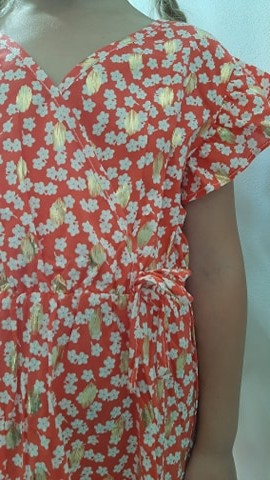Robe rouge fillette by Elle est du Sud