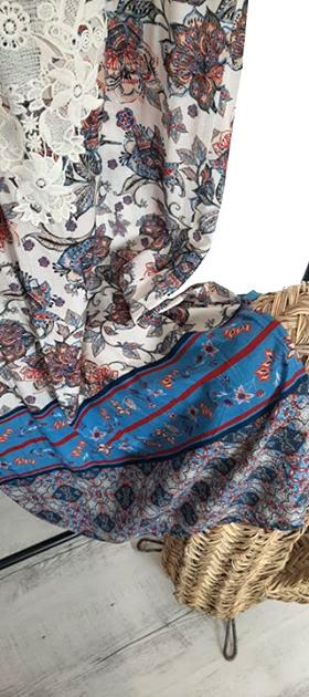 Robe bohême EMA BLUE'S par Elle est du Sud