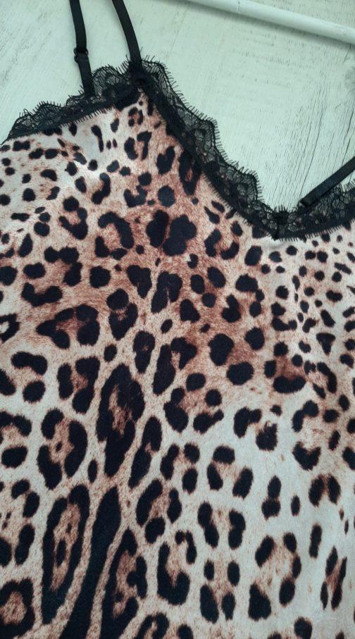 Top dentelle animal BY Elle est du Sud