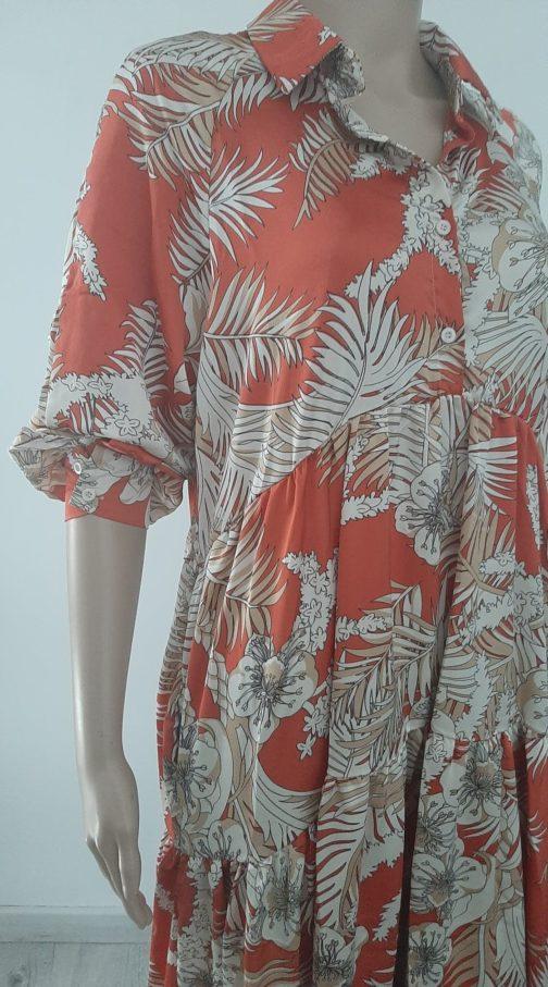 Robe palmiers by Elle est du Sud