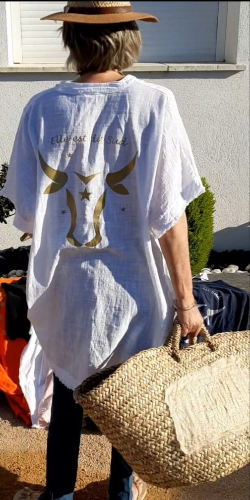 Tunique robe oversize Elle est du Su